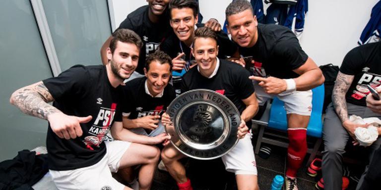 PSV viert zelf al feest in Philips Stadion