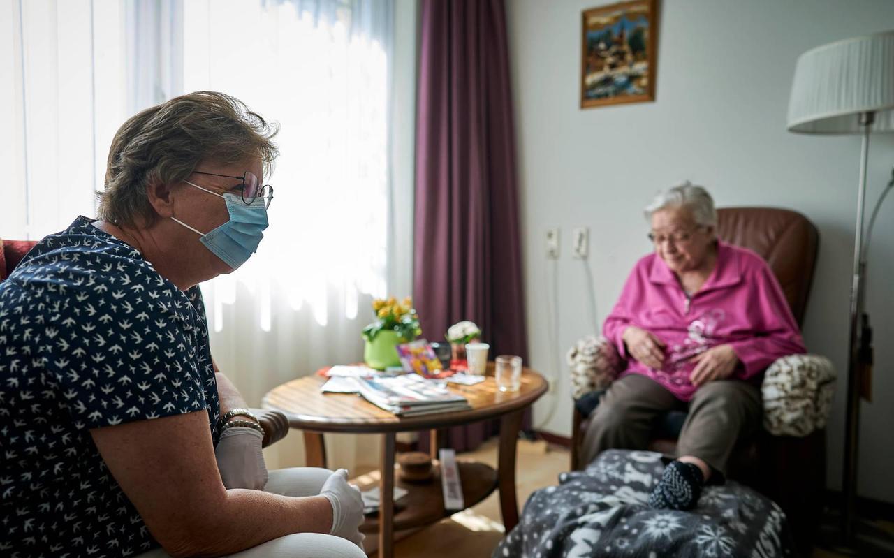 Mondkapjes in verpleeghuizen