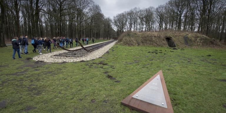 De aardappelkelder op het kampterrein. Foto Hilbrand Dijkhuizen