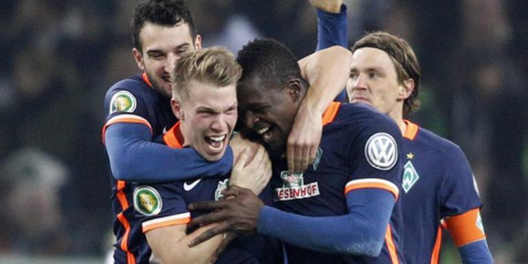 Werder en Bayer bekeren verder