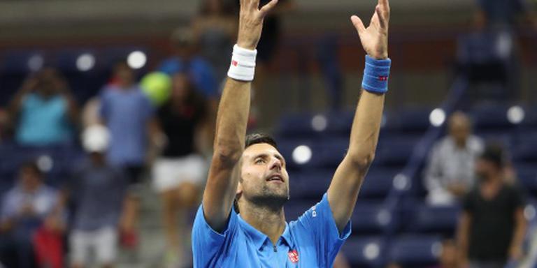 Meevaller voor Djokovic in New York