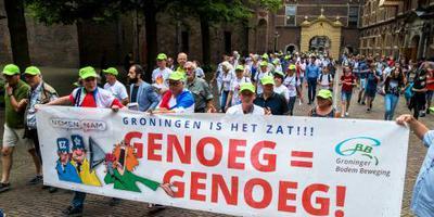Videoprotest Groningers tegen gaswinning
