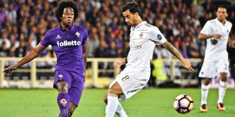 Fiorentina en AC Milan scoren niet