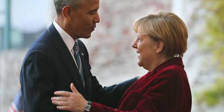 Merkel bedankt Obama voor vertrouwen