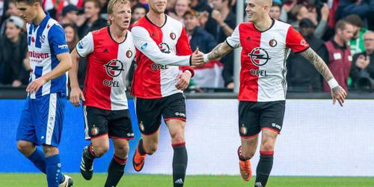 Heerenveen pakt punt bij Feyenoord