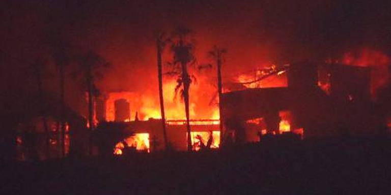 Natuurbranden Californië laaien weer op