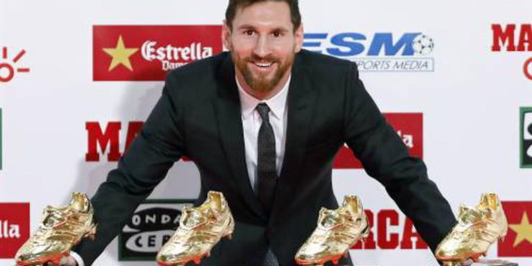 Messi tekent contract tot 2021