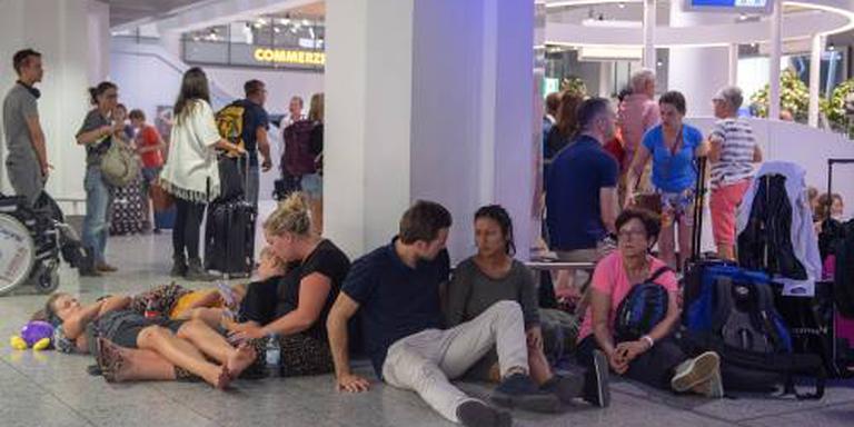 Nog altijd vertragingen op vliegveld Frankfurt