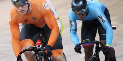 Sprinters naar halve finales keirin bij WK baanwielrennen (2)