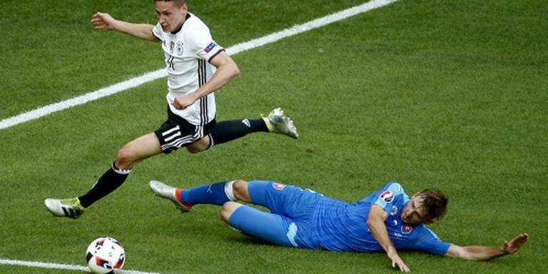 Draxler pakt zijn kans in Duitse elftal