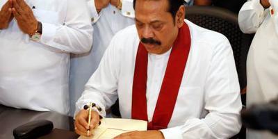 Nieuwe premier Sri Lanka al weer weg