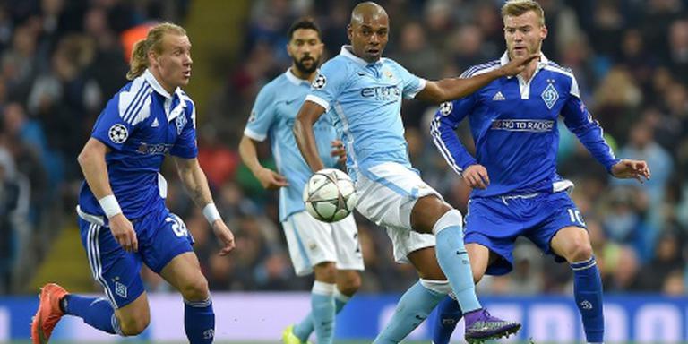 Manchester City voor het eerst in kwartfinale