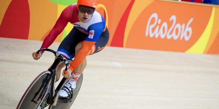 Hoogland vroeg eruit op de sprint