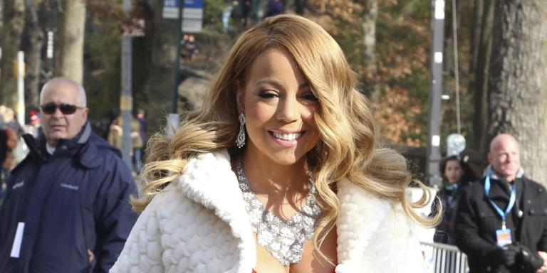 Mariah Carey scoort tijdens kerst met 'All I want for Christmas is you'