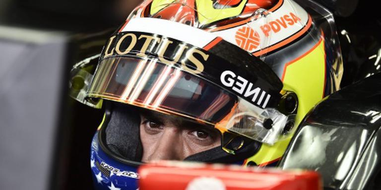 Maldonado komend seizoen niet in Formule 1