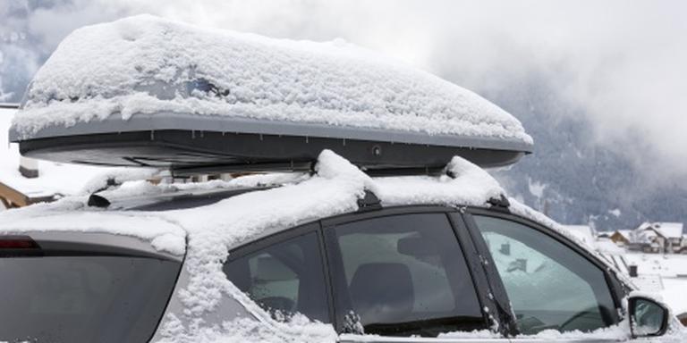 Veel vertraging voor wintersportverkeer