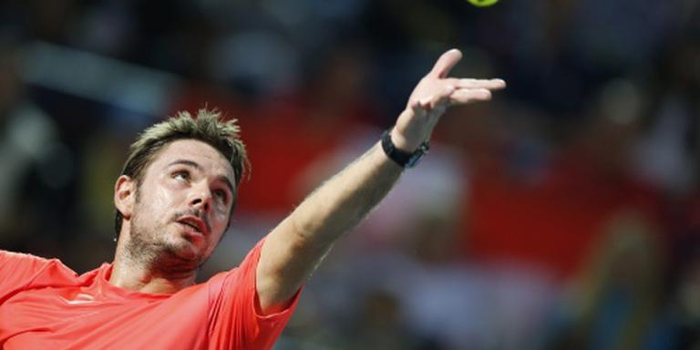 Wawrinka wint finale in Dubai