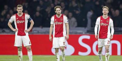 Ajax tweede in poule na gelijkspel Bayern: 3-3