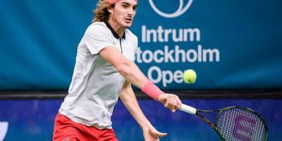 Tennisser Tsitsipas naar Stockholm