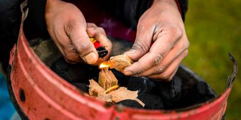 In de Drentse natuur geldt nog steeds een verbod op barbeques en kampvuren. Foto: Archief/ANP