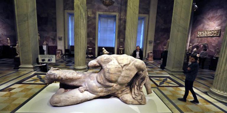 Actie Britse politici teruggave Elgin Marbles