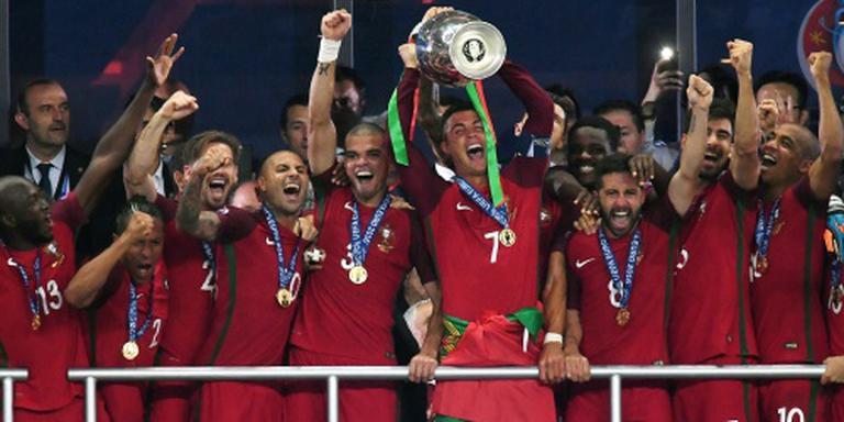 Portugal naar Confederations Cup in Rusland