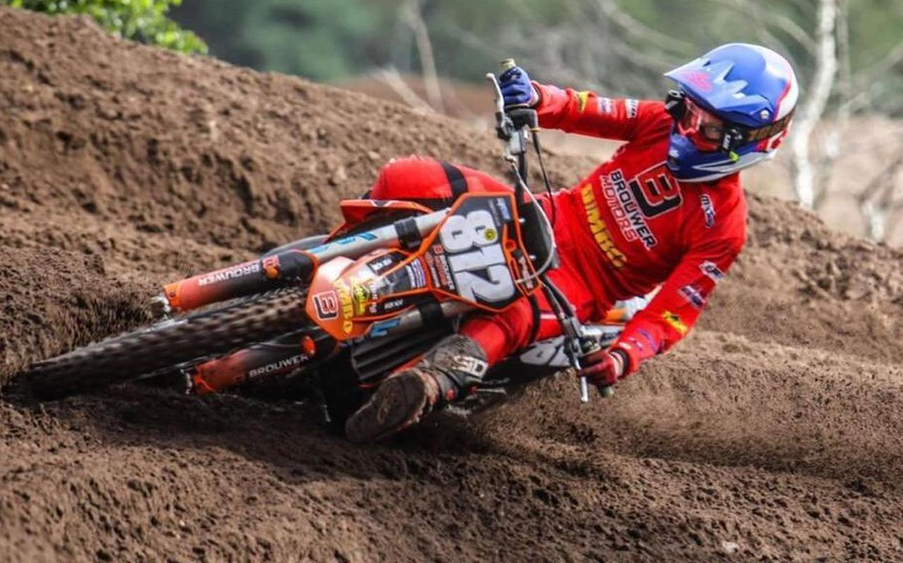 Motorcrosser Sem de Lange wil na Nederland ook Europa veroveren.