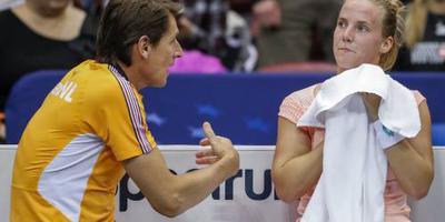 Tennissters treffen Canada in Den Bosch