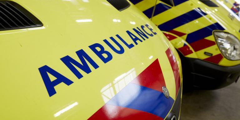 Drie ongevallen op A7 bij Leek.