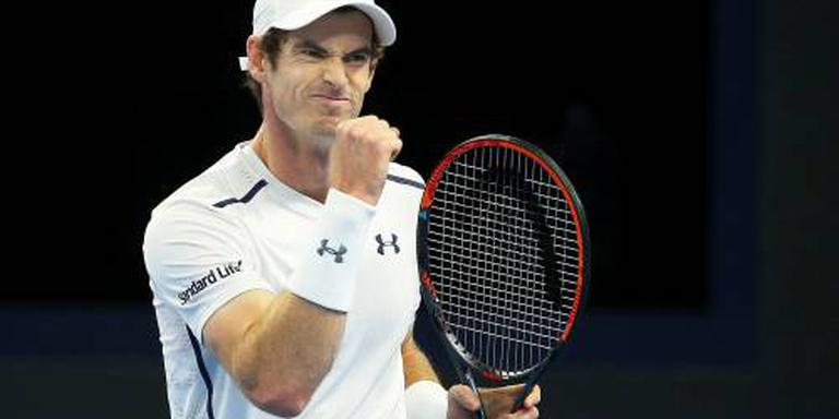 Murray pakt Masters in Shanghai