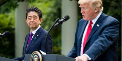 'Japan nomineerde Trump voor Nobelprijs'