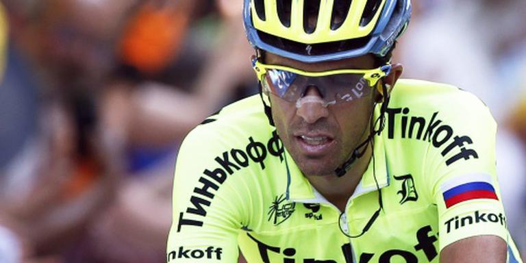 Contador wil ritme opdoen voor Vuelta