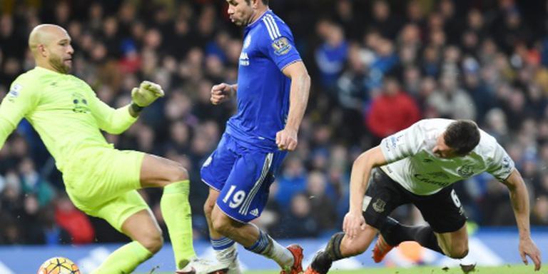 Hiddink stuurt Diego Costa naar ziekenhuis