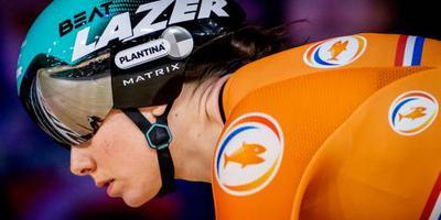 Van Riessen naar kwartfinales sprint op WK baanwielrennen