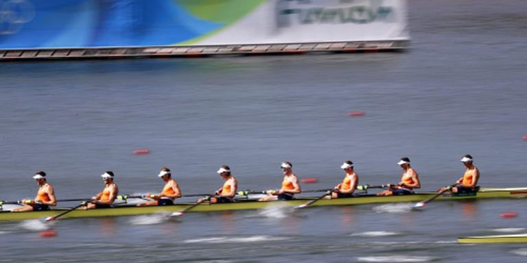 Olympisch brons voor Holland Acht