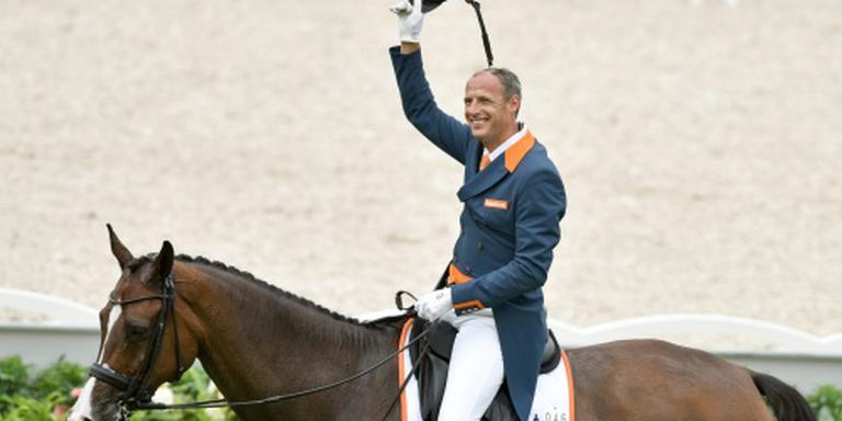 Dressuurruiter Van der Meer wint in Mechelen