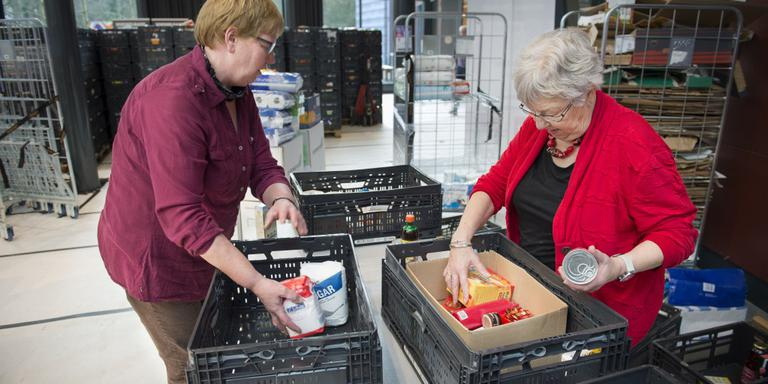 Actie Voedselbank levert 236.000 euro op