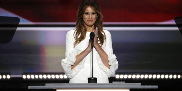 Commotie VS over speech Melania Trump