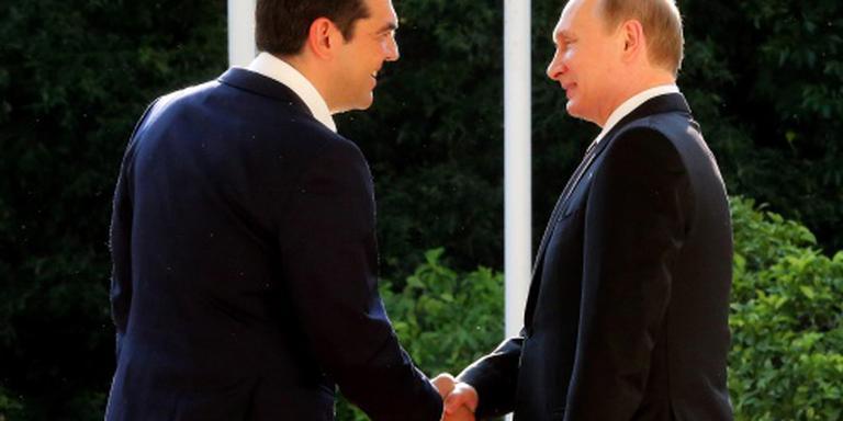 Poetin en Tsipras willen meer samenwerken
