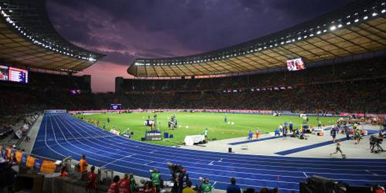 Brons voor mannenploeg op 4x100 meter