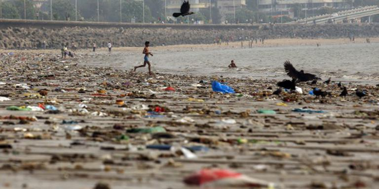 'In 2050 meer plastic dan vis in de zee'