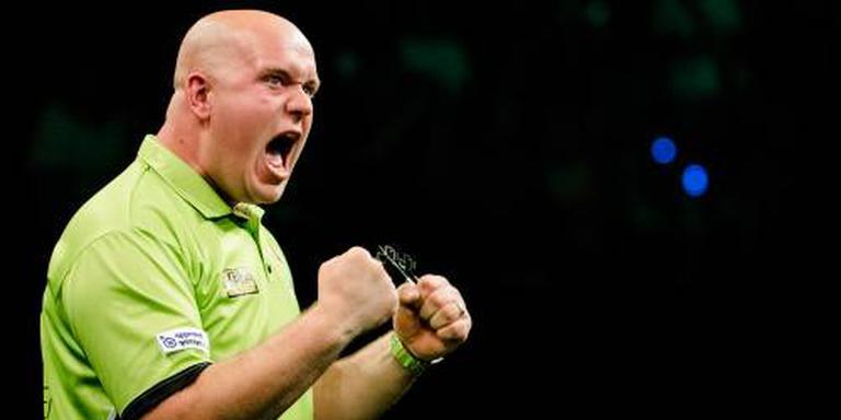 Darter Van Gerwen naar finale Grand Slam