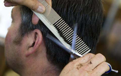 'Bij een barbier past wel een oude, grijze man'