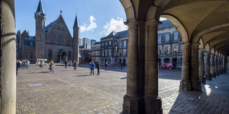 Slagboom in plaats van paaltjes bij Binnenhof