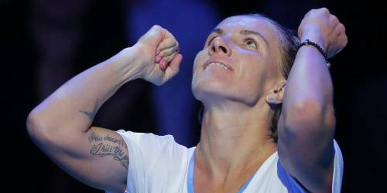Koeznetsova pakt titel en ticket WTA Finals