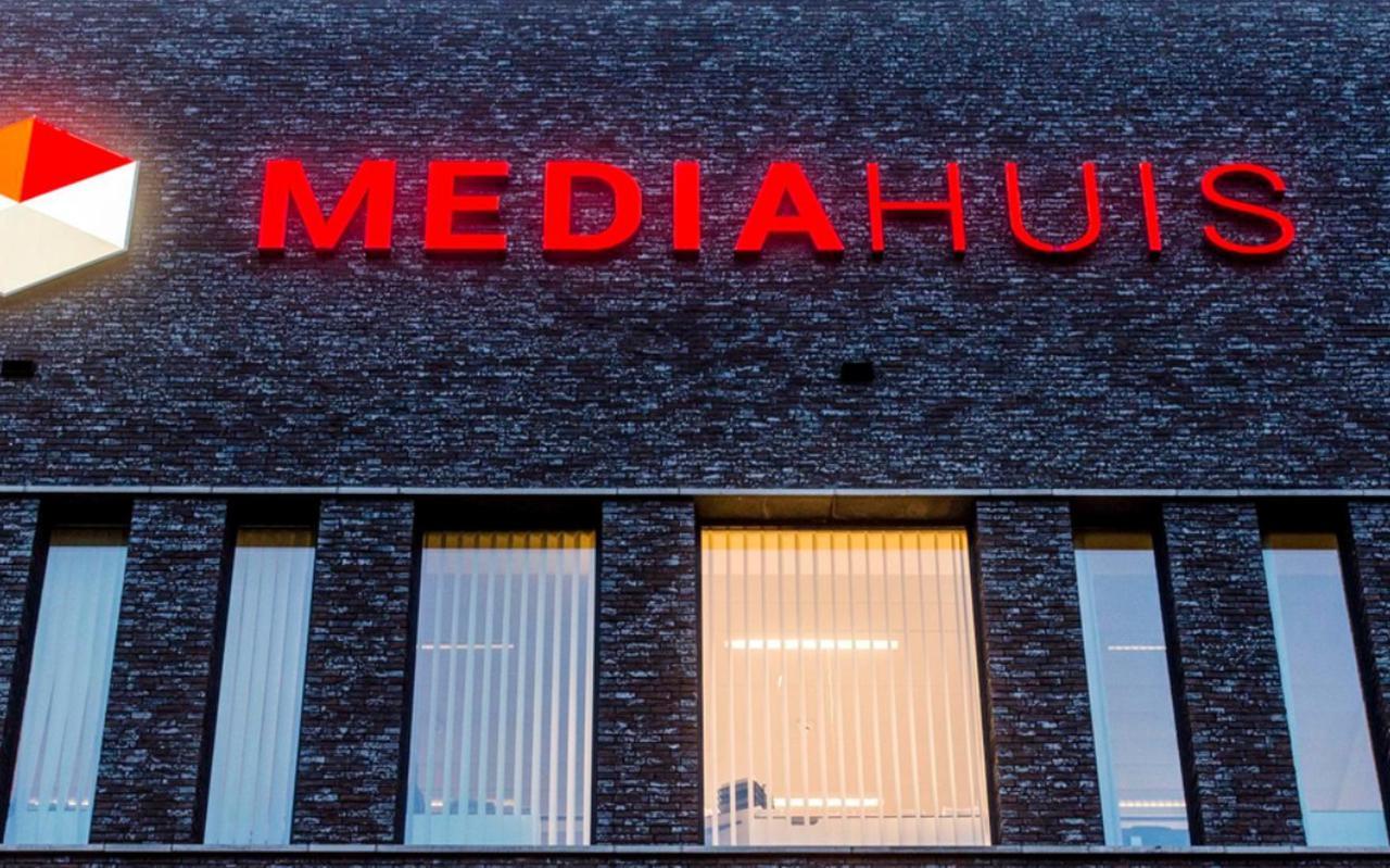 Het hoofdkantoor van Mediahuis in Antwerpen.