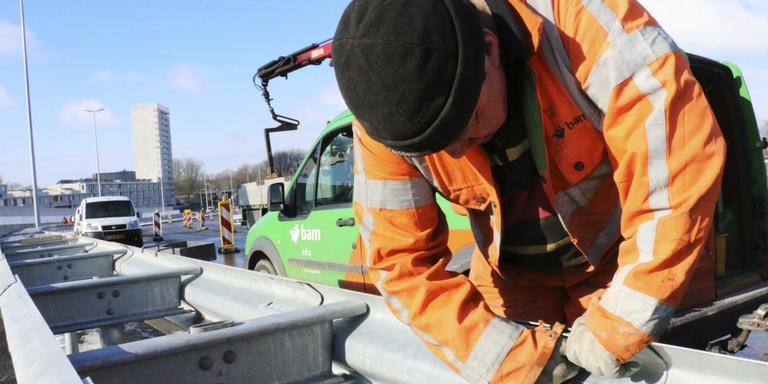 Werk Noordzeebrug vrijdag klaar