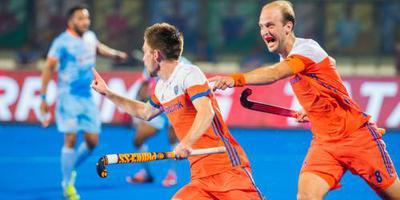 Van der Weerden slaat Oranje naar halve finale