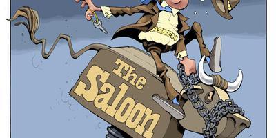Rechter: café The Saloon in Assen blijft dicht