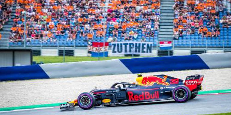 Verstappen zegeviert in thuisrace Red Bull